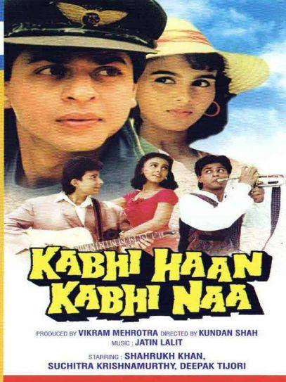 A poster of Kabhi Haan Kabhi Naa