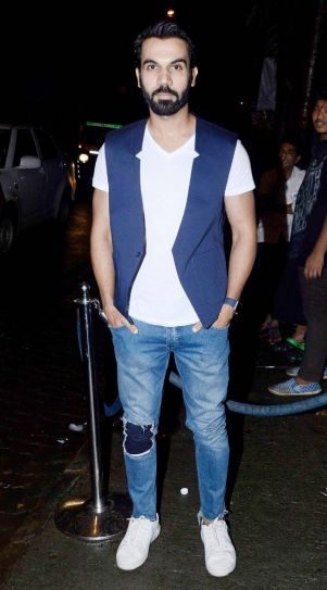 Rajkummar Rao at Aanand L Rai's birthday bash