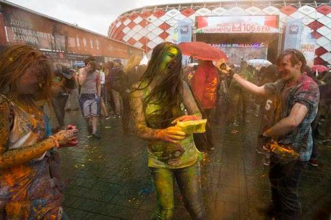 Russia Festival of Colours