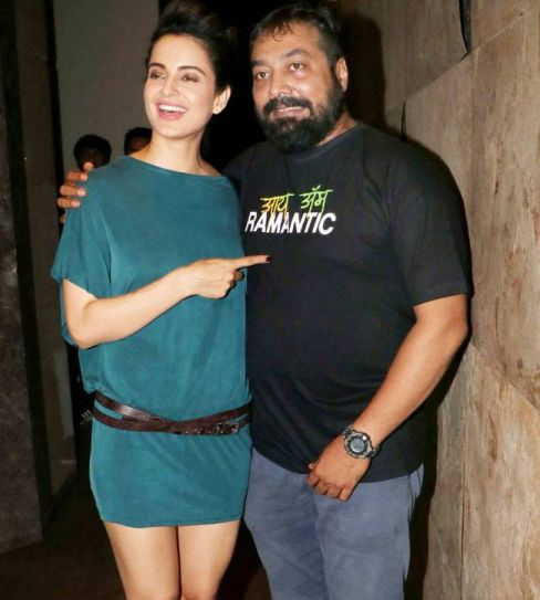 Kangana Ranaut and Anurag Kashyap at Raman Raghav 2.0 screening