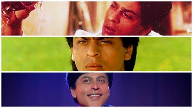 Shah Rukh Khan through the ages