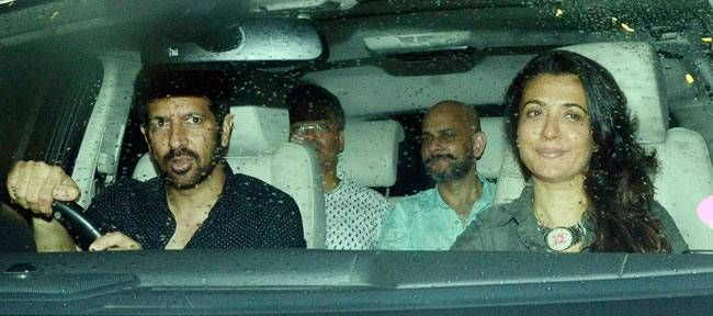 Kabir Khan at the Sultan screening.