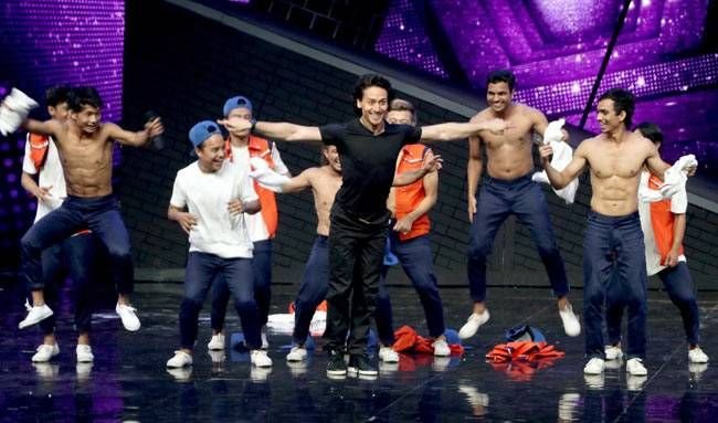Tiger Shroff enjoys dancing as much as he loves doing stunts.