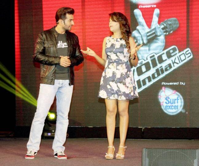Jay Bhanushali and Sugandha Mishra