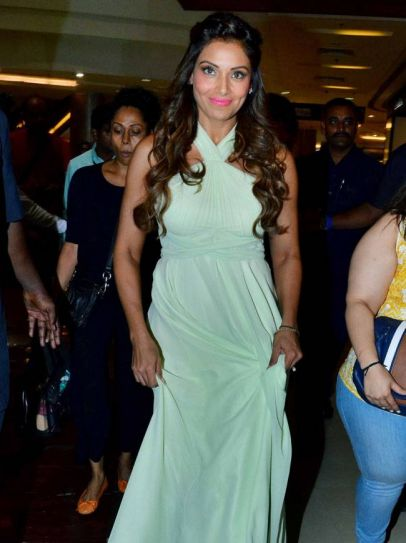Bipasha Basu at the launch of a Korean lifestyle product.