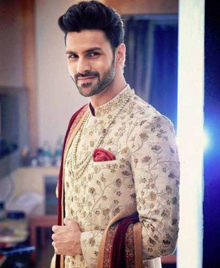 Vivek Dahiya looks every bit royal in his beige sherwani.