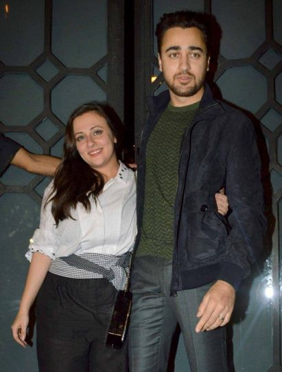 Imran Khan was present at the party along with his wife Avantika Malik Khan.