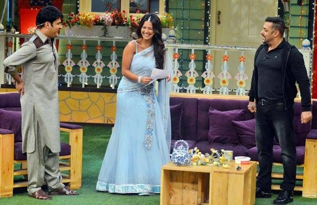 Bigg Boss 9 contestant Rochelle Rao aka Lottery has managed to amuse both Salman and Kapil.