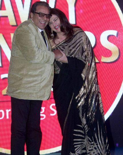 Dharmendra and Kunika Lal