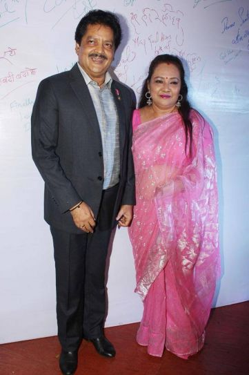 Singer Udit Narayan was also among the guests.