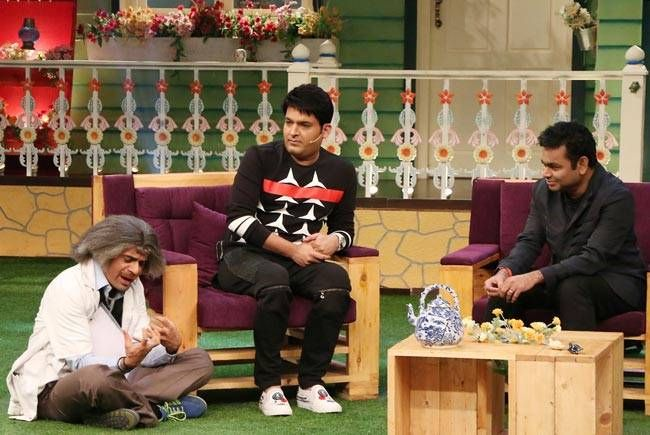 Sunil Grover, Kapil Sharma, and AR Rahman