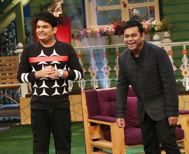 Kapil Sharma and AR Rahman