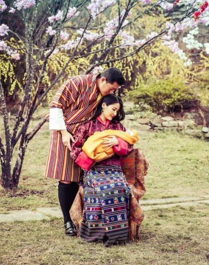 King Jigme and Queen Jetsun