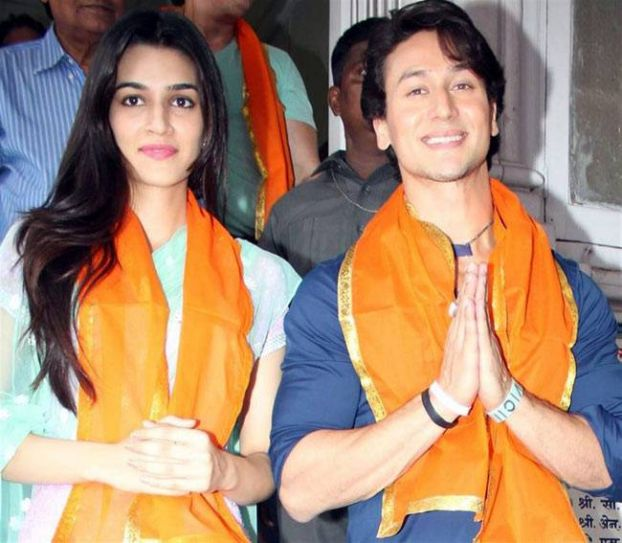 Tiger Shroff and Kriti Sanon