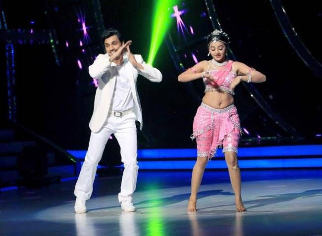 Helly Shah and her dance partner