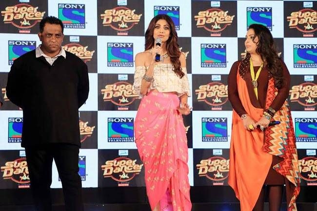 Anurag Basu, Shilpa Shetty and Geeta Kapur