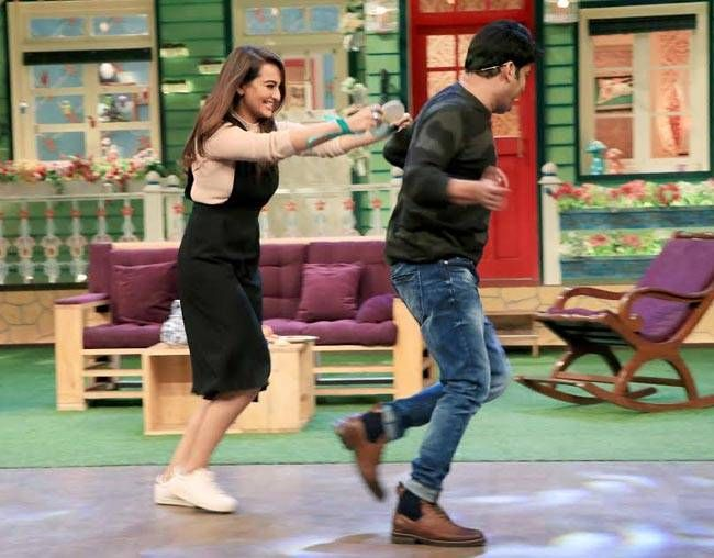 Sonakshi Sinha and Kapil Sharma