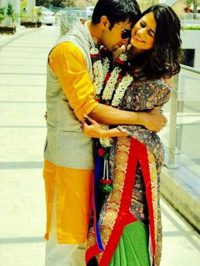 Sahil Mehta with wife