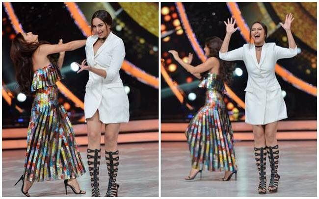 Sona and Jacky shared some crazy moments on Jhalak! The girls really killed it.