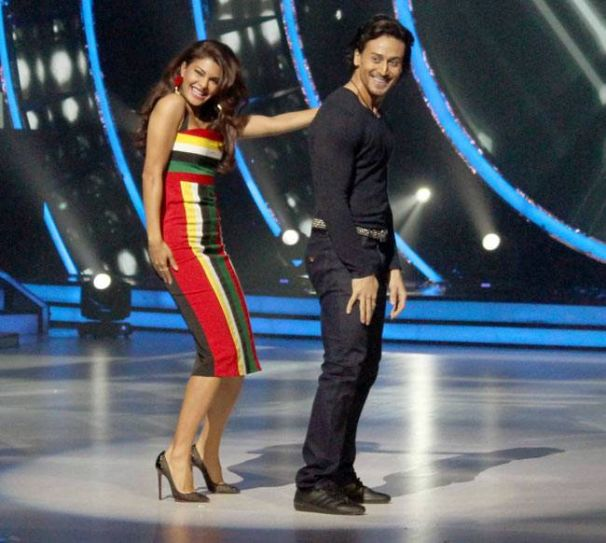 Tiger Shroff is promoting his upcoming film A Flying Jatt on Jhalak Dikhhla Jaa 9.