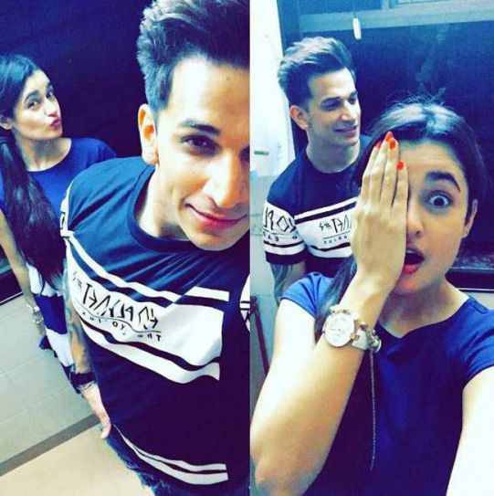 Prince Narula and Yuvika Chaudhary: They met each other on the sets of Bigg Boss 9 and Prince even proposed to her on the show. Yuvika was soon evicted and later Prince got besotted by Nora. Now that the show is over, the two have become great friends and