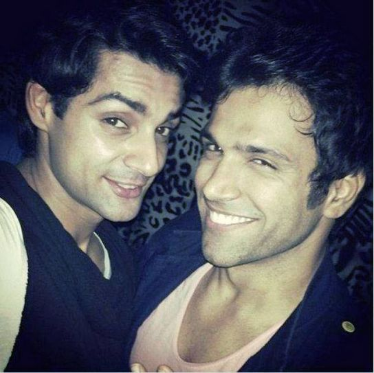 Karan Wahi and Rithvik Dhanjani: The two met on the sets of Jhalak Dikhhla Jaa and there has been no looking back since then. They leave no opportunity to flaunt their friendship. In fact they can be considered for the next installment of Dostana.