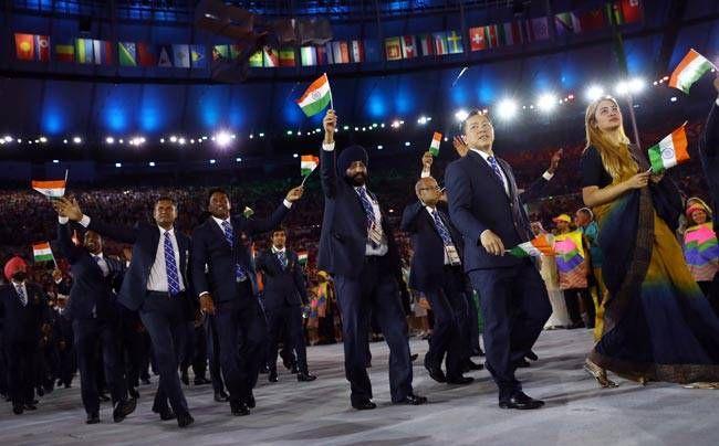 Indian contingent at Olympics