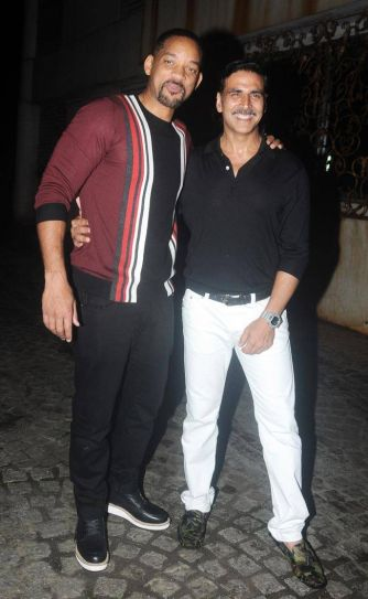 Will Smith and Akshay Kumar
