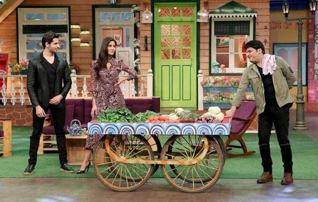 Kapil Sharma, Katrina Kaif, and Sidharth Malhotra