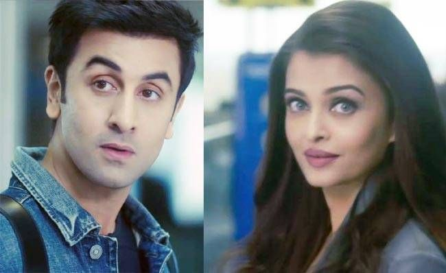Ranbir Kapoor and Aishwarya Rai Bachchan in stills from Ae Dil Hai Mushkil