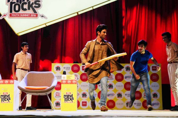 Sushant Singh Rajput at Mind Rocks 2016