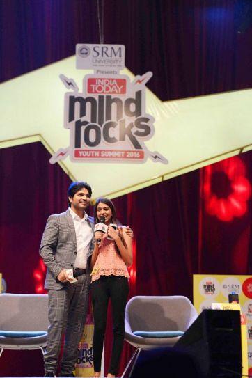 Ankit Tiwari at Mind Rocks 2016