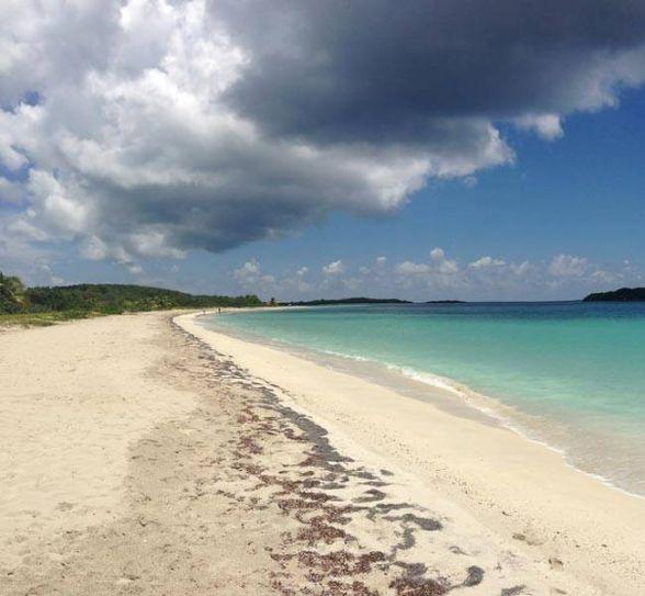 Blue Beach (La Chiva), Puerto Rico
