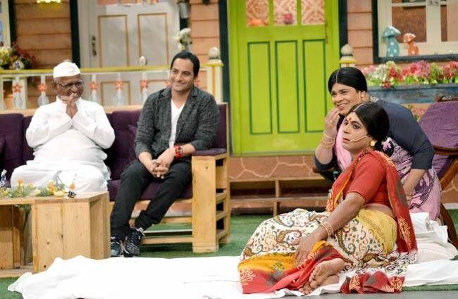 Sunil Grover and Kiku Sharda also got a chance to impress the anti-corruption crusader.