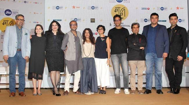 Guests at the Jio MAMI 18th Mumbai Film Festival