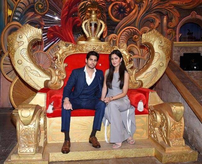 Katrina Kaif and Sidharth Malhotra