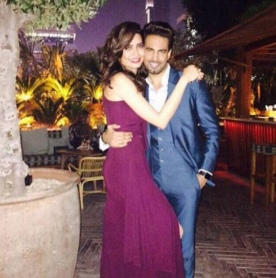 Karishma Tanna and Upen Patel: They met on the sets of Bigg Boss and went on to host a TV show MTV Love School. They were one of the most-active couples on social media and often posted their vacation pictures together on Instagram. When Upen announced th