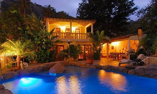 Angelina Jolie's home in Laurel Canyon
