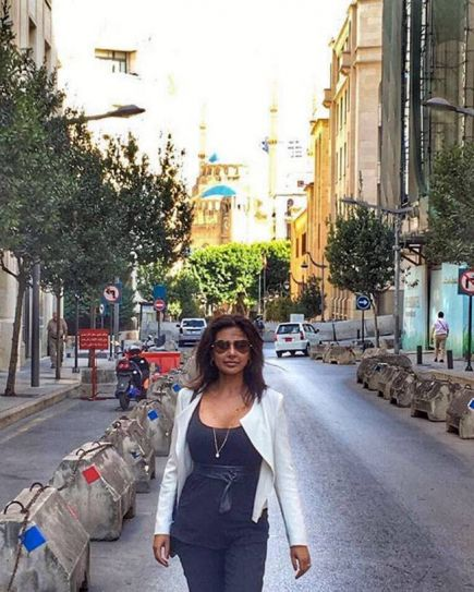 Lisa Ray in Lebanon