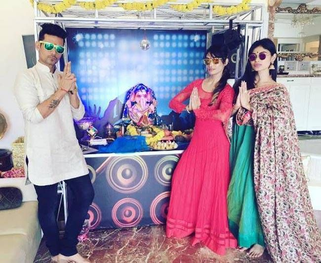 And this is how Naagin star Mouni Roy is celebrating Ganesh Chaturthi.