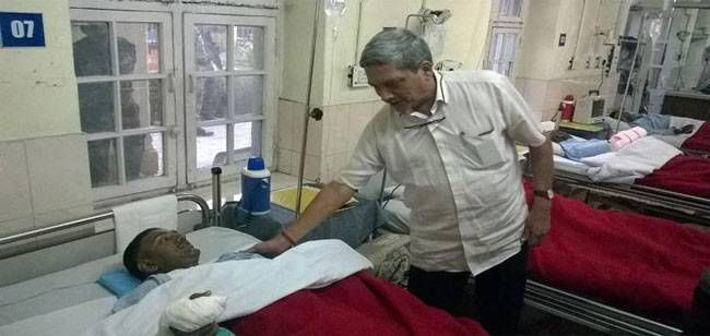 Manohar in Army Base Hospital