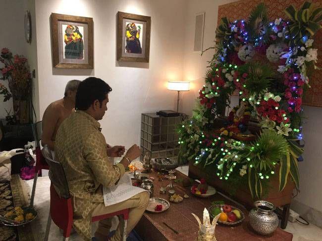 Sachin celebrates
