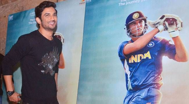 Sushant Singh Rajput at the promotions of MS Dhoni: The Untold Story