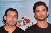 Sushant Singh Rajput and Neeraj Pandey at MS Dhoni: The Untold Story promotions