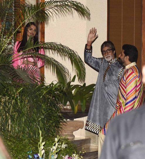 Aishwarya Rai Bachchan, Amitabh Bachchan and Abhishek Bachchan