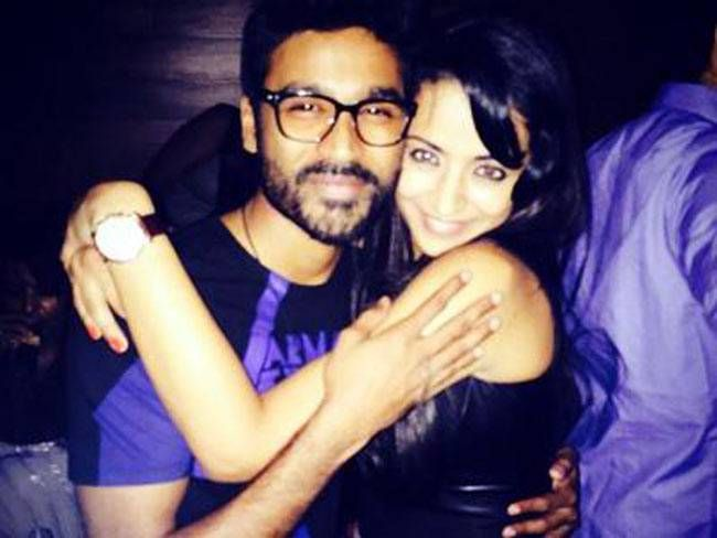 Dhanush and Trisha