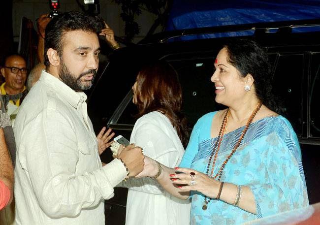 Raj Kundra, Sunanda Shetty