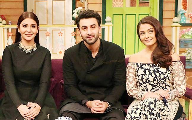 Aishwarya Rai Bachchan, Anushka Sharma, Ranbir Kapoor
