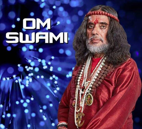 Aam Aadmi Contestant: Om Swami The Motormouth Om Swami tried to grab the maximum screen space by constantly chattering. From 'fixing' Salman Khan's marriage to promising to create his clone, we really don't know, if his over-enthusiasm will brighten