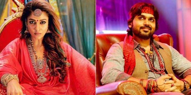 Nayanthara and Karthi